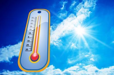 Foto zur Meldung: Hitzewarnung des Deutschen Wetterdienstes für den Landkreis Oberspreewald-Lausitz