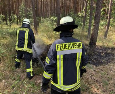 Foto zu Meldung: Waldbrand am Schlagweg