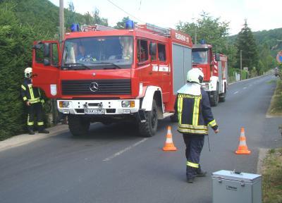 Vorschaubild zur Meldung: Gemeinsame Feuerwehrübung bei ATP