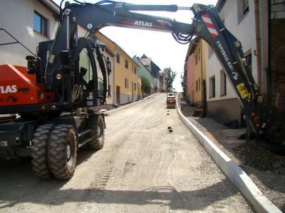 Vorschaubild zur Meldung: Baustelle Lauterbacher Straße im Endspurt