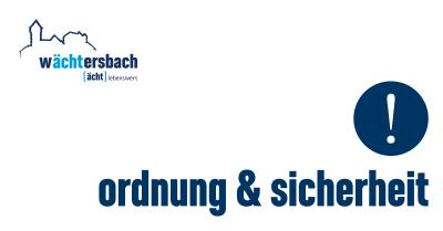 Vorschaubild zur Meldung: Waldbrandgefahr auch im Stadtwald Wächtersbach