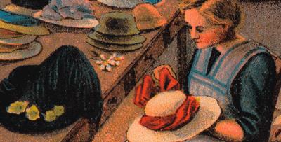 Vorschaubild zur Meldung: Gut behütet - Radeberger Strohhutfabrikation von 1883 bis 1950 Ausstellung im Schloss Klippenstein in Radeberg
