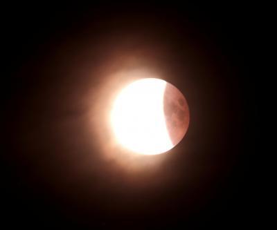 Mondfinsternis in der Nacht vom 27./ 28.07.2018, ca. 0:03 Uhr MESZ