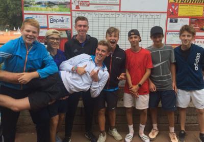Vorschaubild zur Meldung: Tennis: Resultat Landesfinale Bayern der Schulhausmannschaften