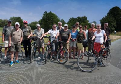 Vorschaubild zur Meldung: Radtour für Seniorinnen und Senioren führt nach Höchst