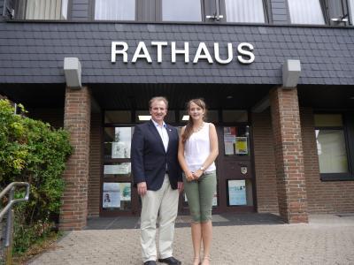Foto zur Meldung: Neue Auszubildende bei der Verbandsgemeindeverwaltung