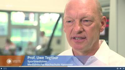 Prof. Dr. med. Uwe Tegtbur im Interview der Sendung NDR Visite