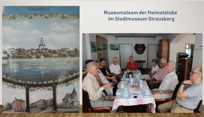 Foto zur Meldung: Heimatstube kann auf Zusammenarbeit mit dem Stadtmuseum Strausberg rechnen
