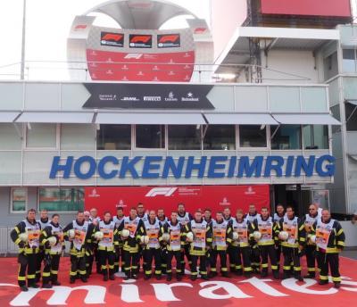 Vorschaubild zur Meldung: Formel 1, der Große Preis von Deutschland in Hockenheim und wir waren wieder dabei...
