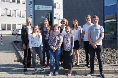 Foto zur Meldung: Neue Auszubildende bei der Gemeinde Holzwickede