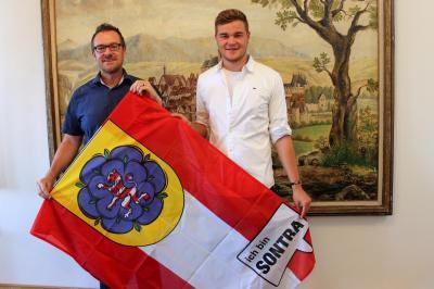 Kilian Strebe aus Sontra fliegt für 1 Jahr nach Amerika mit dem Parlamentarischen Patenschafts-Programm (PPP).