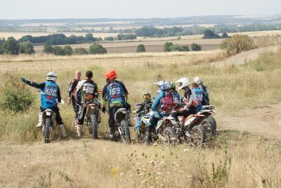 Foto zur Meldung: Trainingswochenende für die Sportfahrer des MSC Waldkappel-Breitau e.V. im ADAC