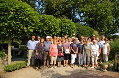 Foto zur Meldung: Unvergessliche Erlebnisse: Erste Gartenreise der Rosenfreunde führte nach Schleswig-Holstein