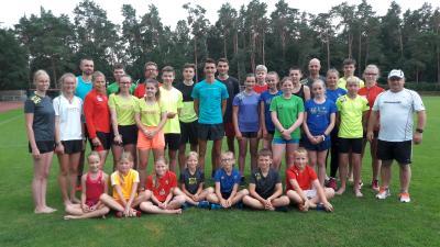 Foto zur Meldung: Trainingslager der Laager Laufgruppe war ein Event