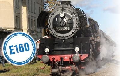 Vorschaubild zur Meldung: E 160 Stettin - Tantow - Angermünde
