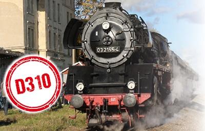 Vorschaubild zur Meldung: D 310 Berlin - Angermünde