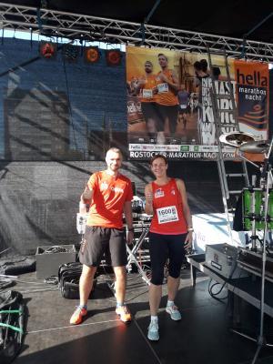 Foto zur Meldung: Rostocker Marathonnacht lässt die Straßen beben