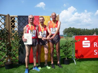Victor Landmann, Rainer Behrens und Manfred Vollmer