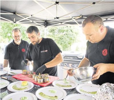Foto zur Meldung: Aartal BBQ Crew stellt sich wieder Kampf am Grill