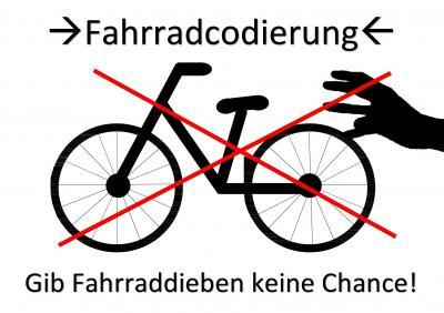 Vorschaubild zur Meldung: Fahrradcodierung