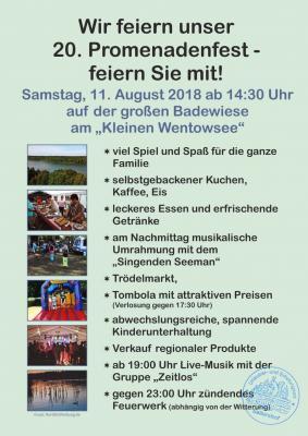 Vorschaubild zur Meldung: 20. Promenadenfest in Seilershof