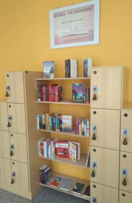 Vorschaubild zur Meldung: Bücher tauschen in der Stadtbibliothek