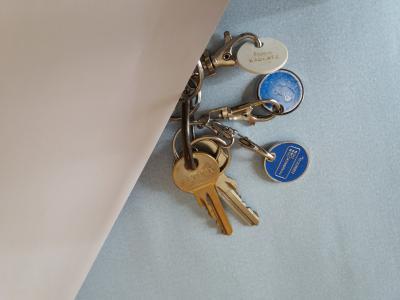 Vorschaubild zur Meldung: Wer vermisst ein Schlüsselbund?
