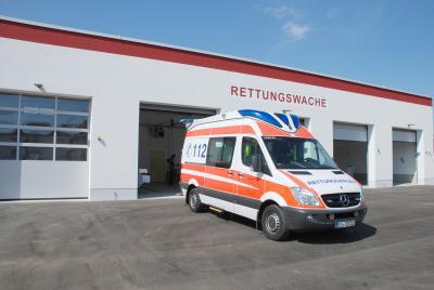 Vorschaubild zur Meldung: Neue Rettungswache in Herzberg eingeweiht