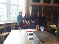 Foto zu Meldung: Freisprechung der Buchbindergesellen(innen)