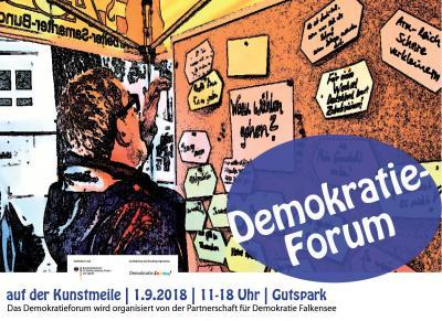 Demokratieforum 2018