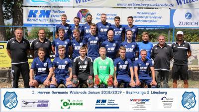 Foto zur Meldung: I.Herren - Mannschaftsfoto zum Saisonstart  2018/2019