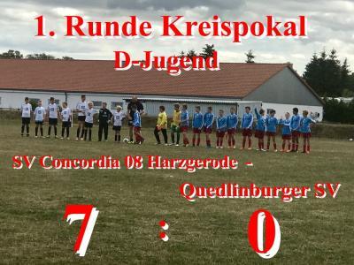 Foto zur Meldung: D-Jugend schlägt Quedlinburger SV mit 7:0