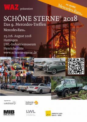 """Vorschaubild zur Meldung: Jubiläum der /8er bei """"SCHÖNE STERNE 2018"""" in Hattingen"""