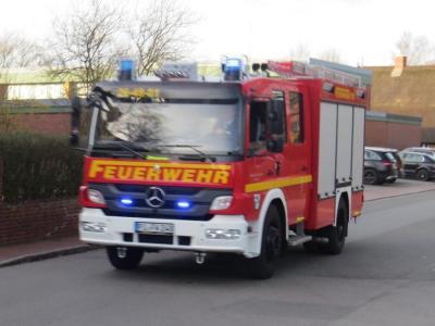 Einsatz der Feuerwehr Seester (Foto: Kay Stieler)