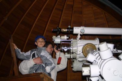 Foto zur Meldung: Ein Abend in der Sternwarte am 28. September