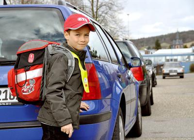Foto zur Meldung: Schulwegsicherung in Rehfelde