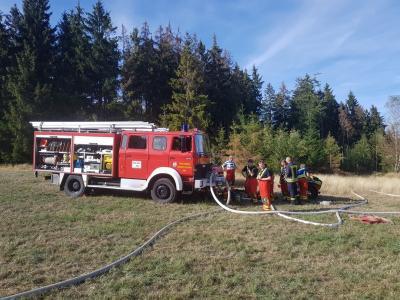 Vorschaubild zur Meldung: EINSATZ: Waldbrand bei Spechtsbrunn