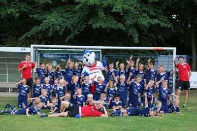 Foto zur Meldung: HSV Fussballschule 2018 - Zum siebten Mal zu Gast - Fotoserien -