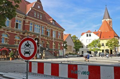 Foto zur Meldung: 27. Calauer Stadtfest: Umfangreiche Sperrungen nötig