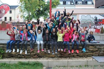 Foto zur Meldung: Trainingslager der Krümelfunken und Juniorfunken 2017 in Plauen