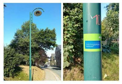 Vorschaubild zur Meldung: Straßenbeleuchtung der Goethestraße auf LED umgerüstet