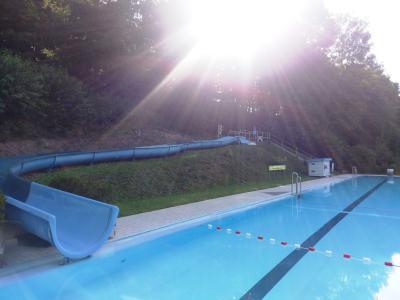 Foto zu Meldung: Waldschwimmbad Löhlbach: Kathrin Obermann singt für Badegäste