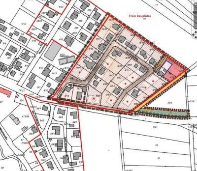 Foto zur Meldung: Günstige Bauplätze in Merzhausen / ca. 33,-- Euro pro Quadtratmeter / Baugebiet Ohrbach 2