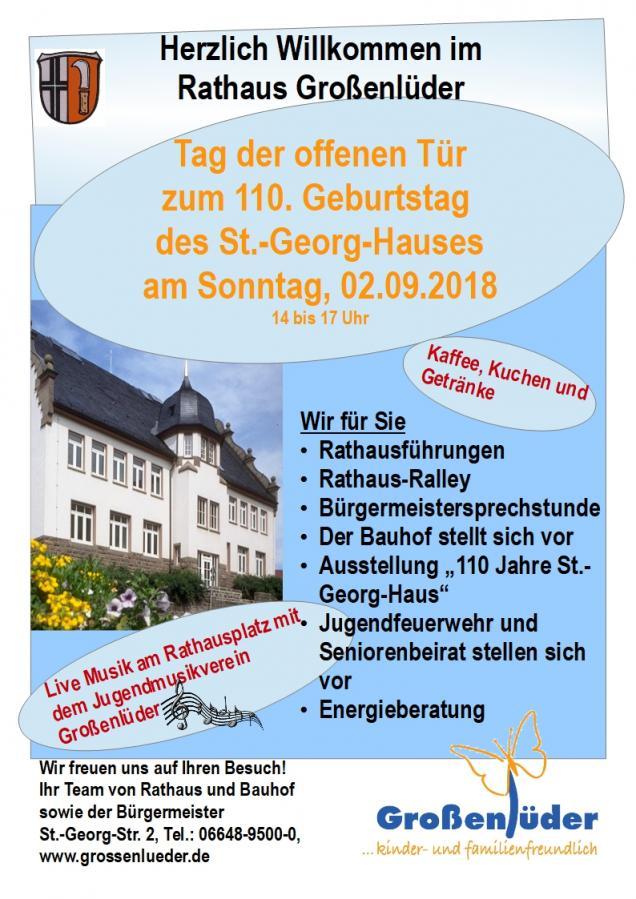 Gemeinde Grossenluder Herzlich Willkommen Im Rathaus 110 Jahre St