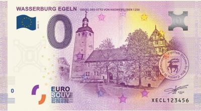 Vorschaubild zur Meldung: Tag des offenen Denkmals mit Präsentation des 0 Euroschein der Wasserburg Egeln