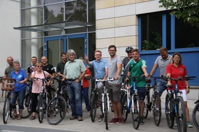 Foto zur Meldung: Wettbewerb Stadtradeln in Märkisch-Oderland gestartet