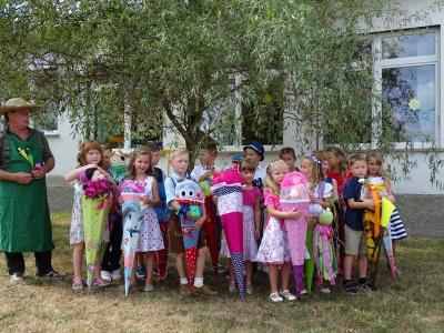 Foto zur Meldung: Unsere Schulanfänger 2018