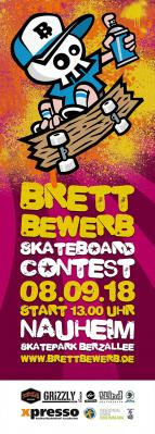 Foto zur Meldung: BRETTBEWERB Skateboard-Contest