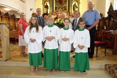 Foto zur Meldung: Pfarrer feiert mit zahlreichen Gästen seinen 65.Geburtstag