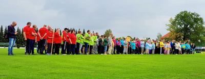 Foto zur Meldung: 203 Sportler beim 24. Sportfest für Menschen mit Behinderung